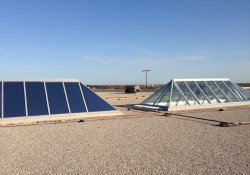 Skylite During Installation of SL-18 Exterior Solar Control Film
