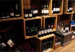 Wine Store Display