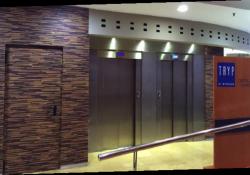 hotel elevator area